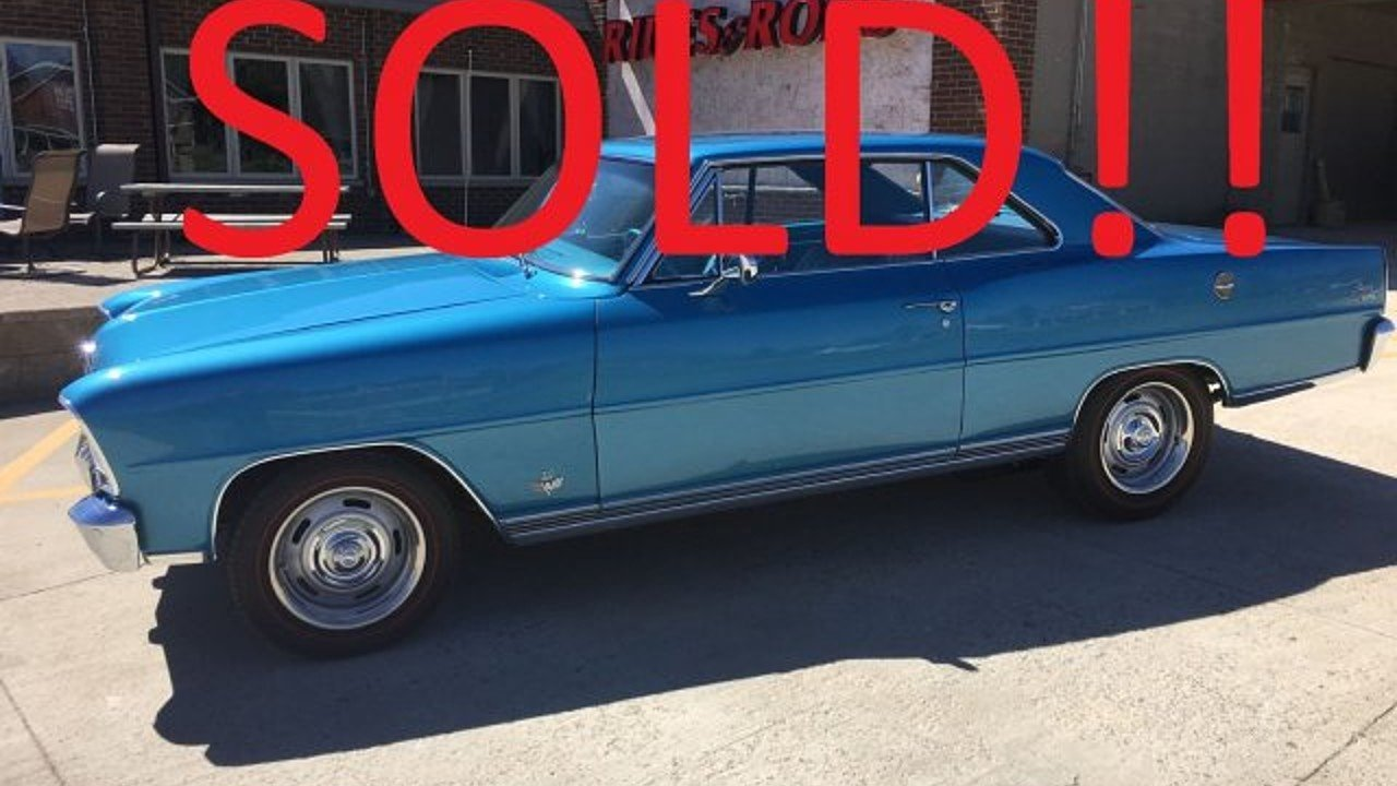 1966 Chevrolet Nova for sale 100863866