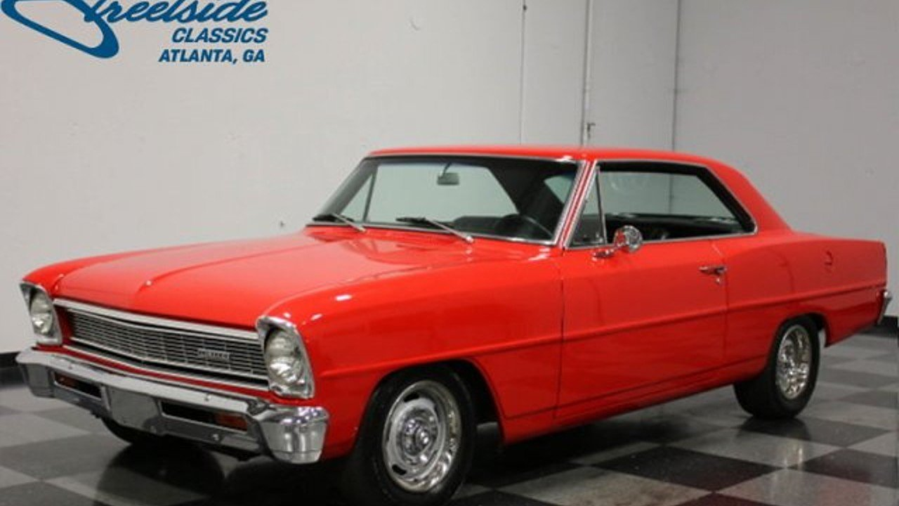 1966 Chevrolet Nova for sale near Lithia Springs, Georgia 30122 ...