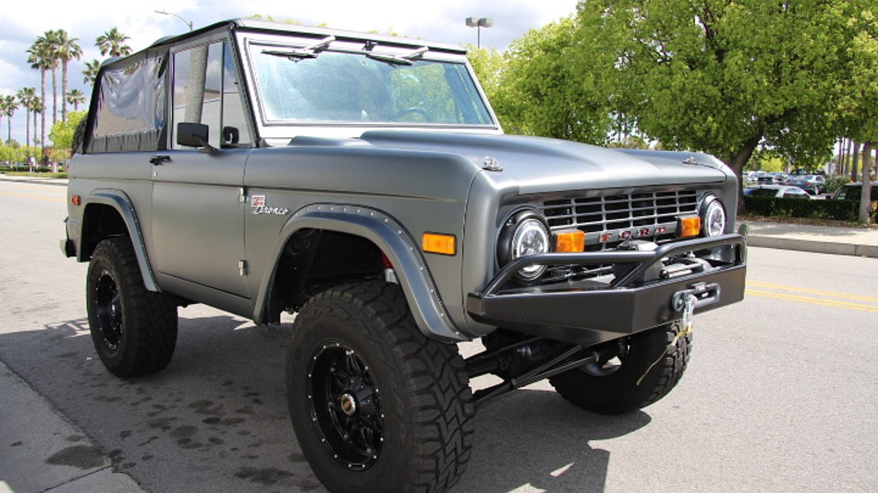 1966 Ford Bronco For Sale Near Chatsworth California 91311 Paint Jobs 101002581