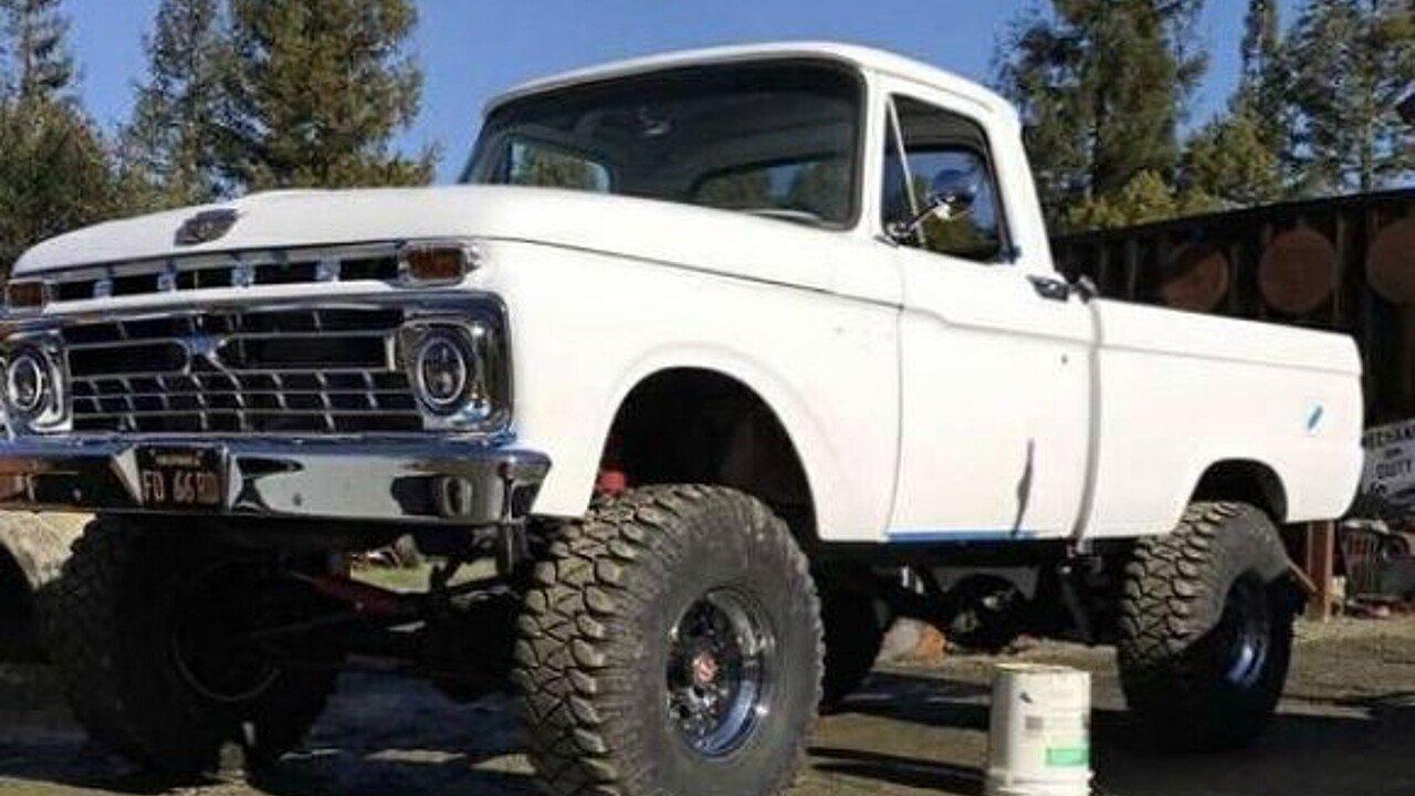 1966 Ford F100 for sale near Cadillac, Michigan 49601 - Classics ...