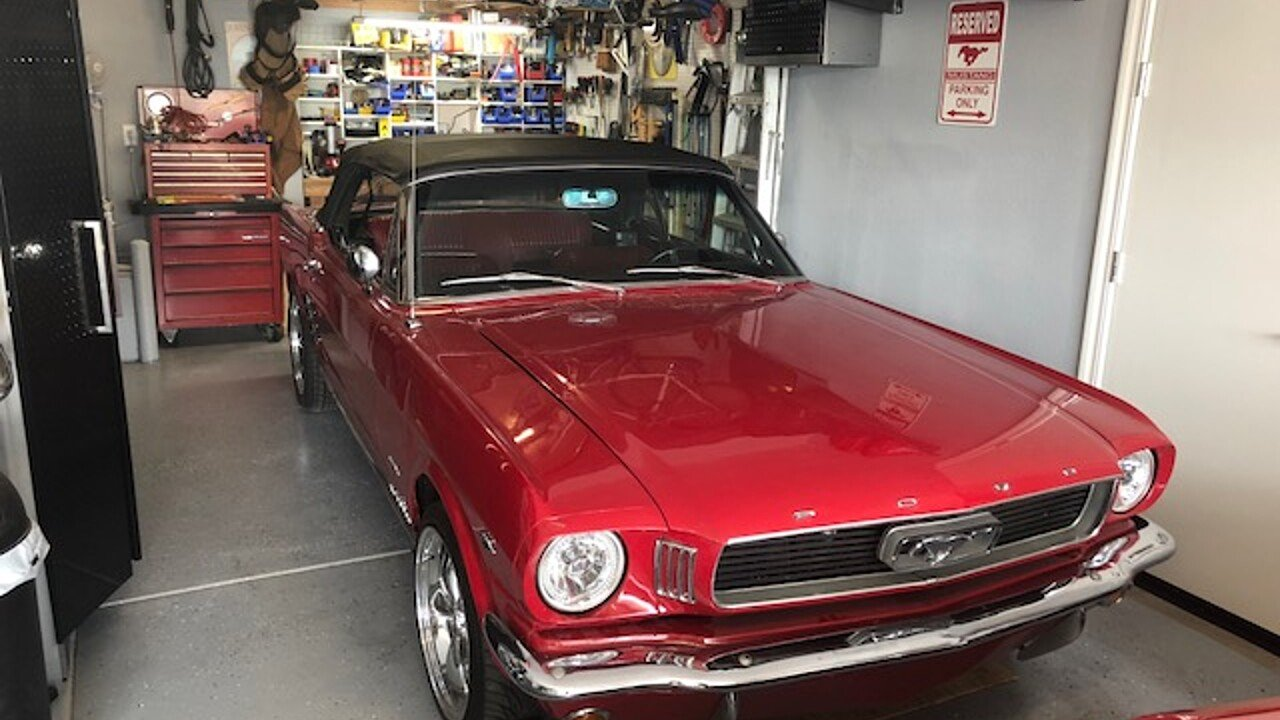 1966 Ford Mustang Convertible for sale 100994502