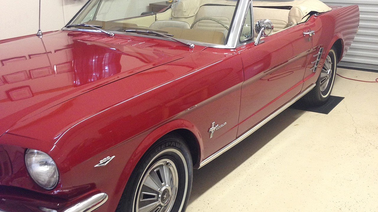 1966 Ford Mustang Convertible for sale 101000931