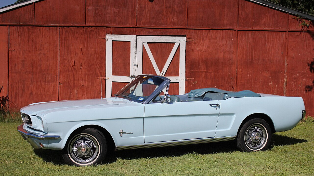 1966 Ford Mustang Convertible for sale near San Antonio, Texas 78245 ...