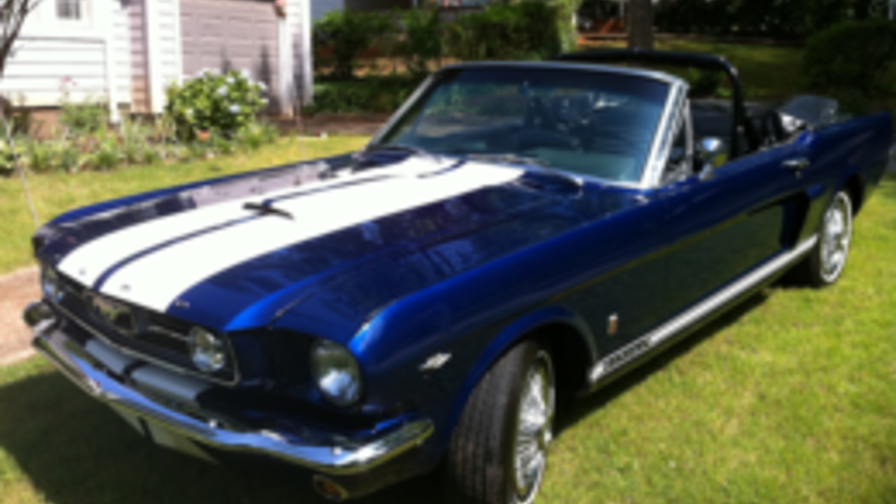 1966 ford mustang gt convertible for sale near atlanta. Black Bedroom Furniture Sets. Home Design Ideas