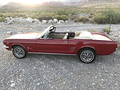 1966 Ford Mustang LX V8 Convertible for sale 100952990