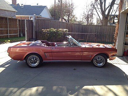 1966 Ford Mustang Convertible for sale 100787697