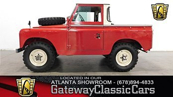 1966 Land Rover Series II for sale 100904012