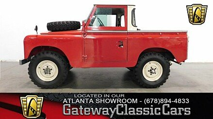 1966 Land Rover Series II for sale 100941044