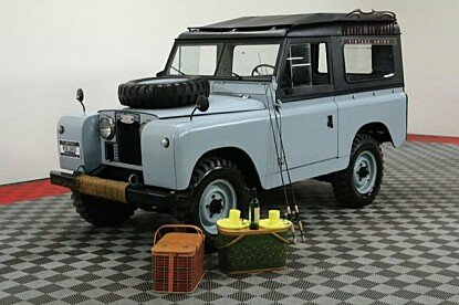 1966 Land Rover Series II for sale 100966952