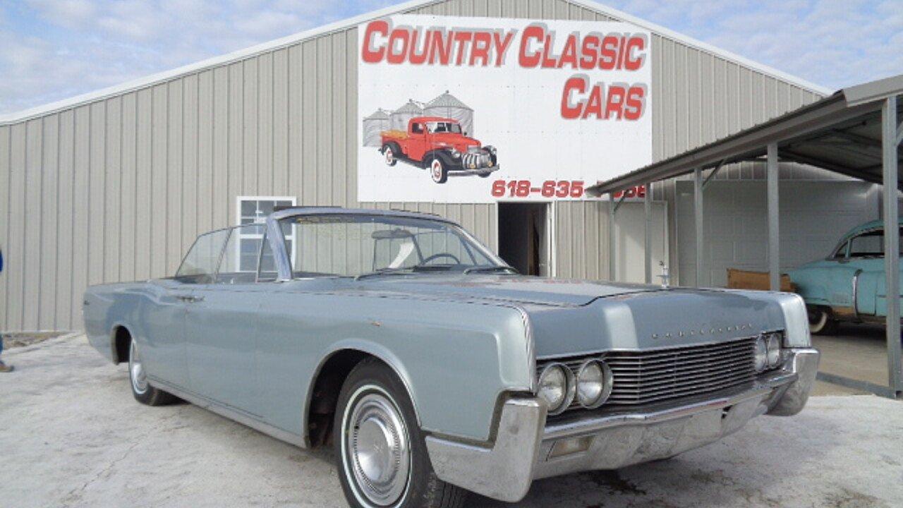 1966 Lincoln Continental for sale near Staunton, Illinois 62088 ...