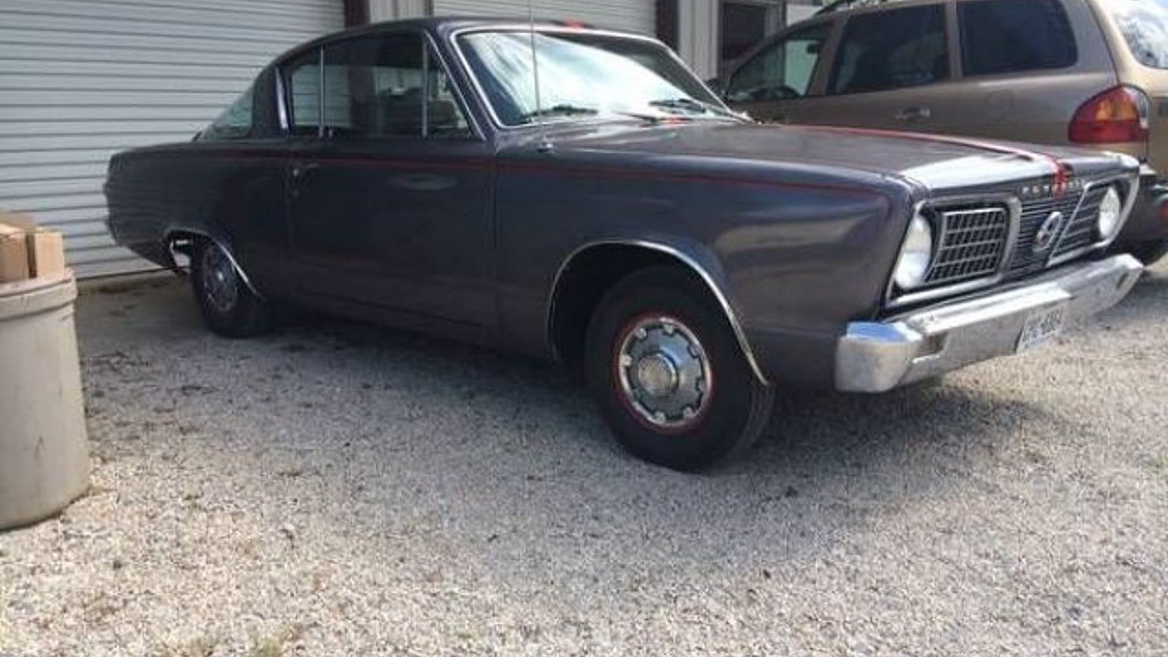 1966 Plymouth Barracuda for sale 100876495