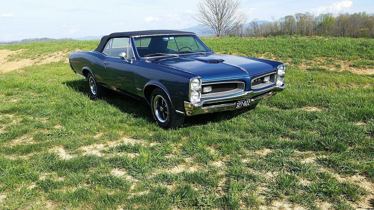 1966 Pontiac GTO for sale near Abingdon, Virginia 24211 - Classics ...