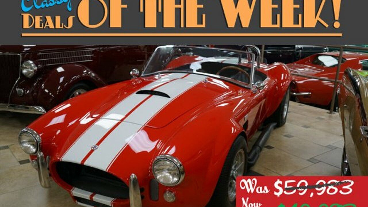 1966 Shelby Cobra for sale 100988340