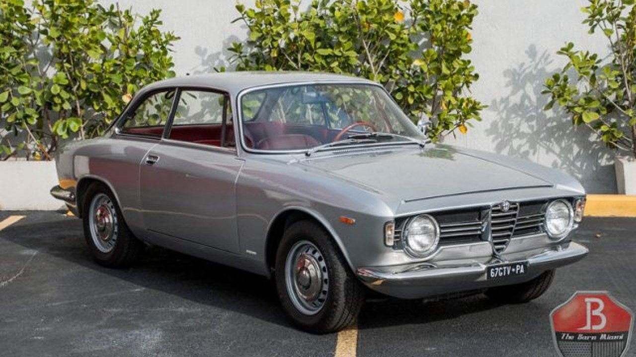 1967 alfa romeo giulia for sale near miami florida 33166. Black Bedroom Furniture Sets. Home Design Ideas