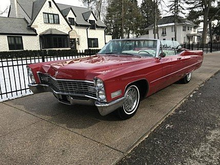 1967 Cadillac De Ville for sale 100847818