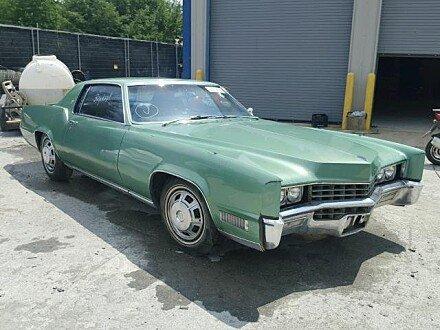 1967 Cadillac Eldorado Classics For Sale Classics On Autotrader