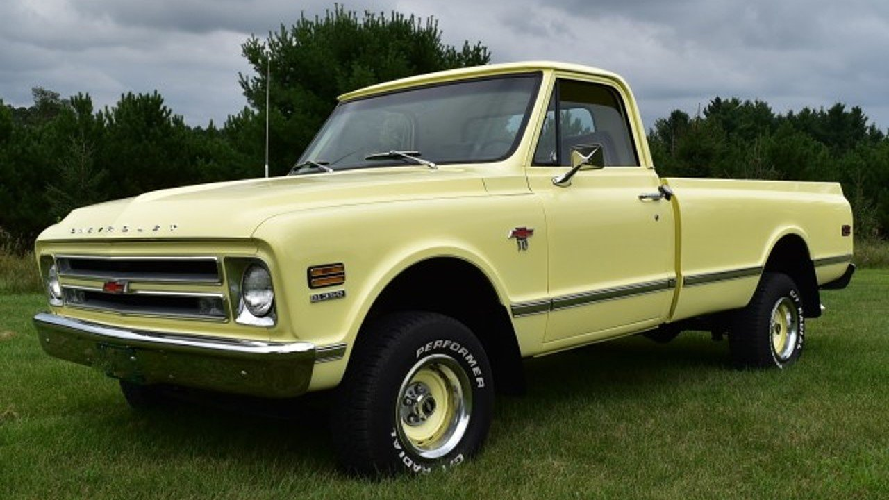 1967 Chevrolet C/K Trucks for sale 100786705