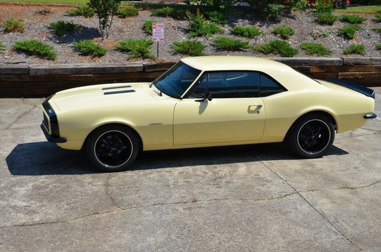 1967 Chevrolet Camaro For Sale Near Atlanta Georgia 30318