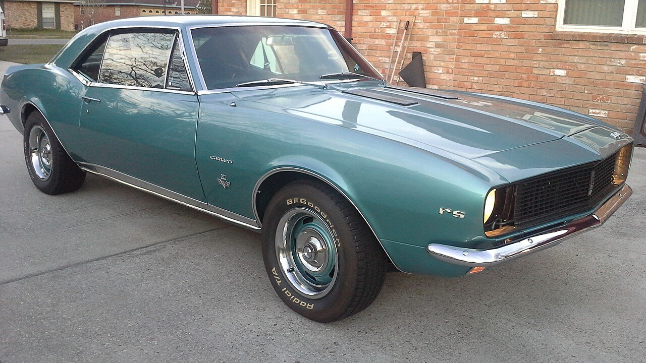 1967 Chevrolet Camaro Ss Coupe For Sale Near Geismar