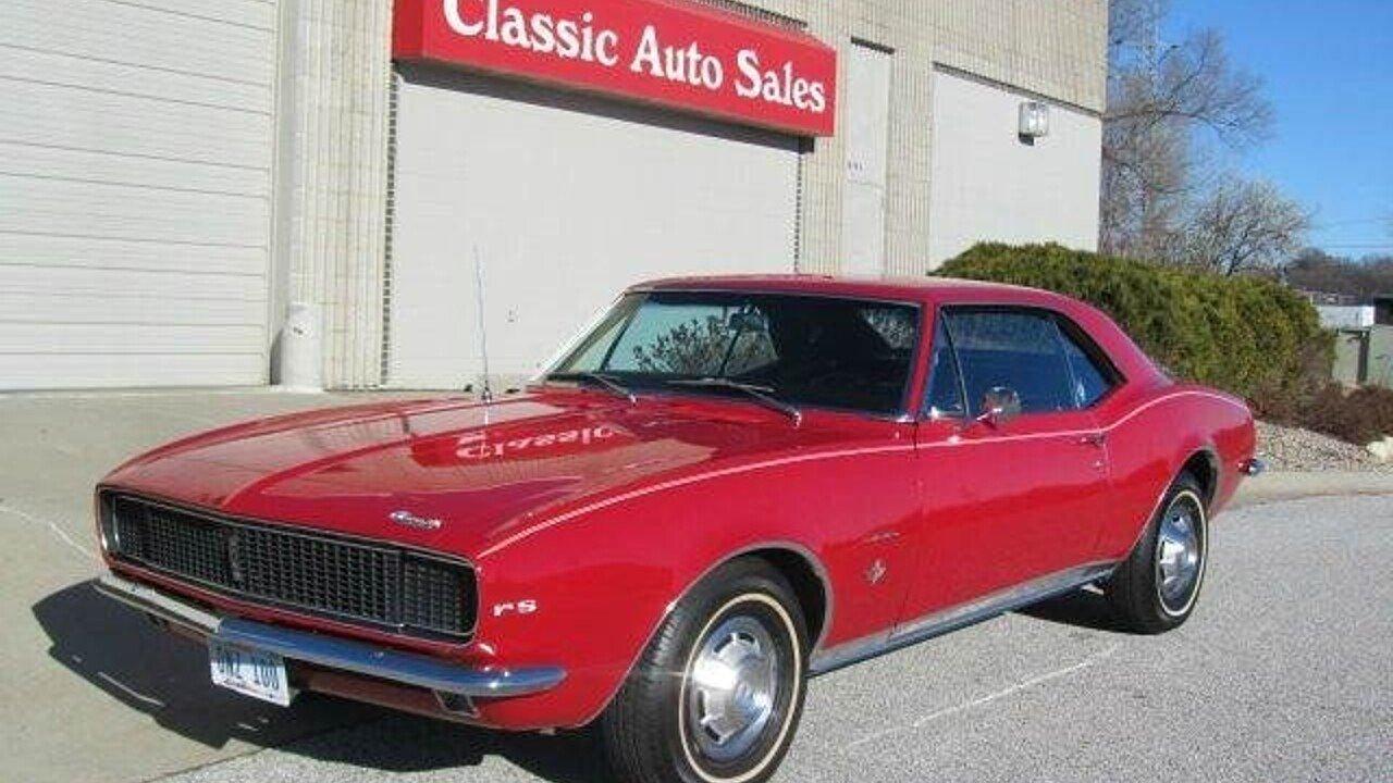 1967 Chevrolet Camaro For Sale Near Omaha Nebraska 68164