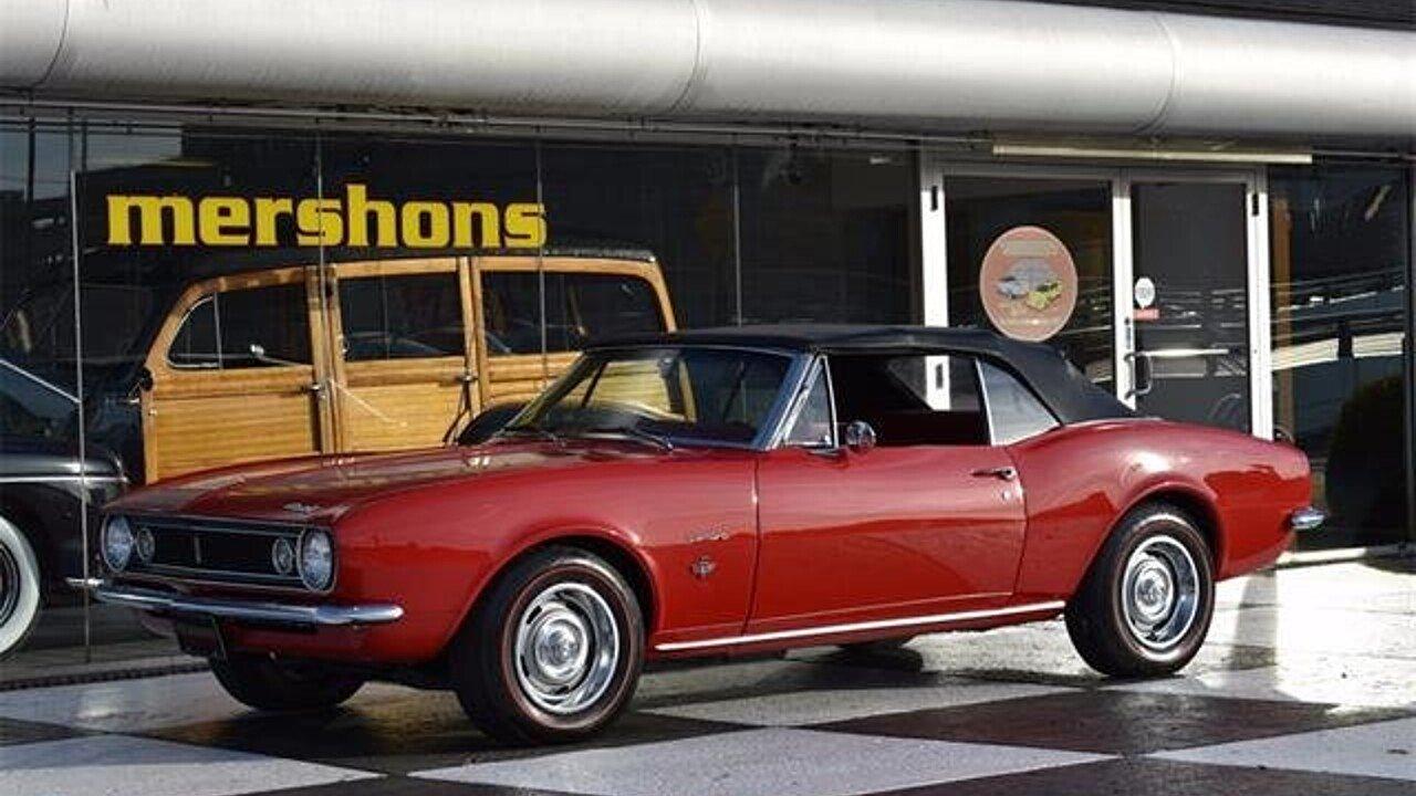 1967 Chevrolet Camaro for sale near Springfield, Ohio 45503 ...