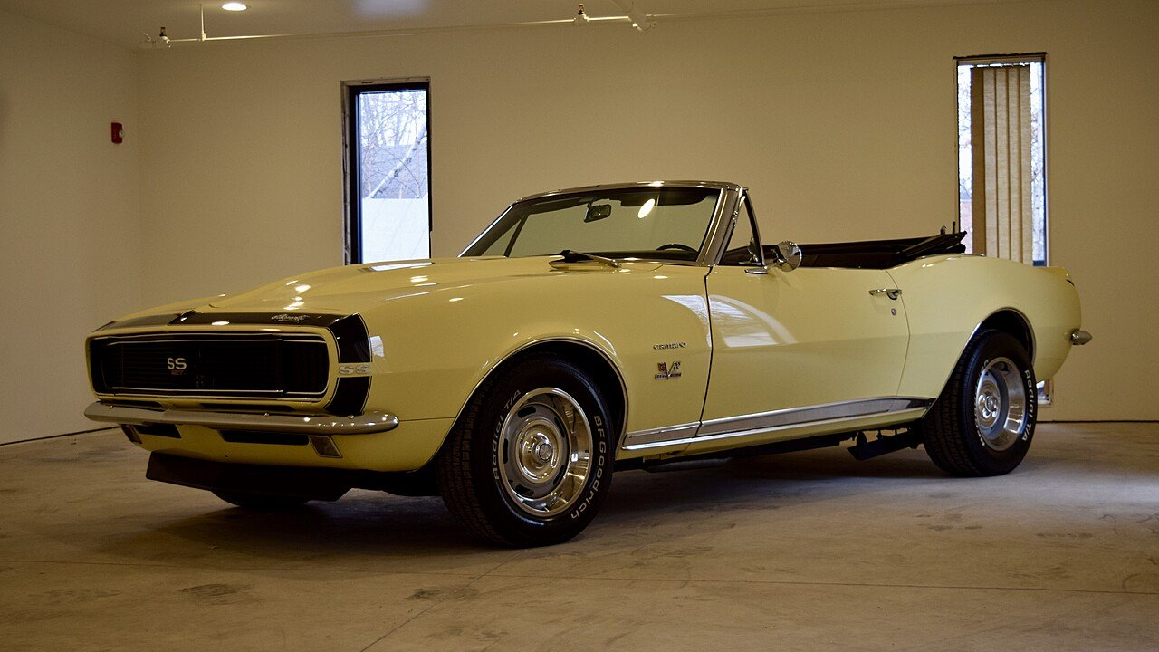 1967 Chevrolet Camaro RS Convertible for sale 100959814
