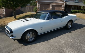 1967 Chevrolet Camaro RS Convertible for sale 101018061