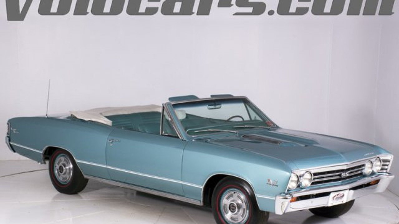1967 Chevrolet Chevelle for sale 100856321