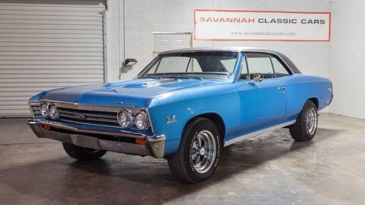 1967 Chevrolet Chevelle for sale near Savannah, Georgia 31415 ...