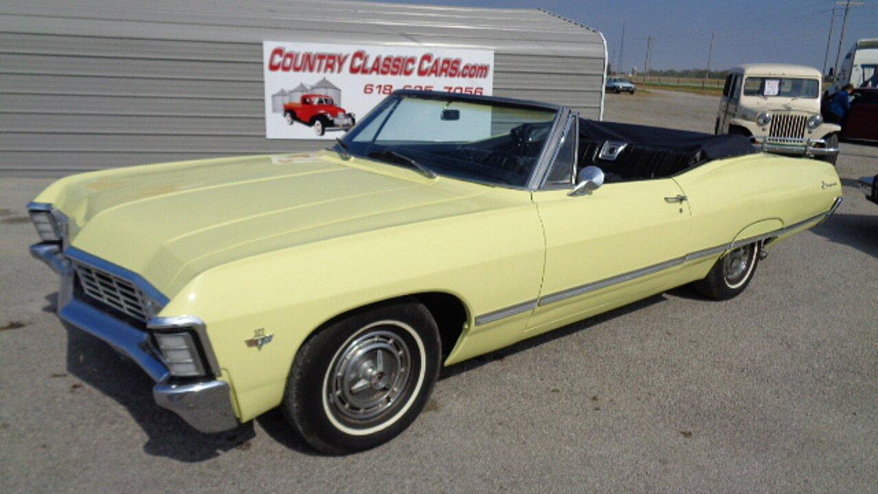 1967 chevrolet impala for sale near staunton illinois 62088 classics on autotrader. Black Bedroom Furniture Sets. Home Design Ideas