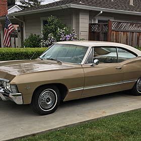 1967 Chevrolet Impala Coupe for sale 100871886