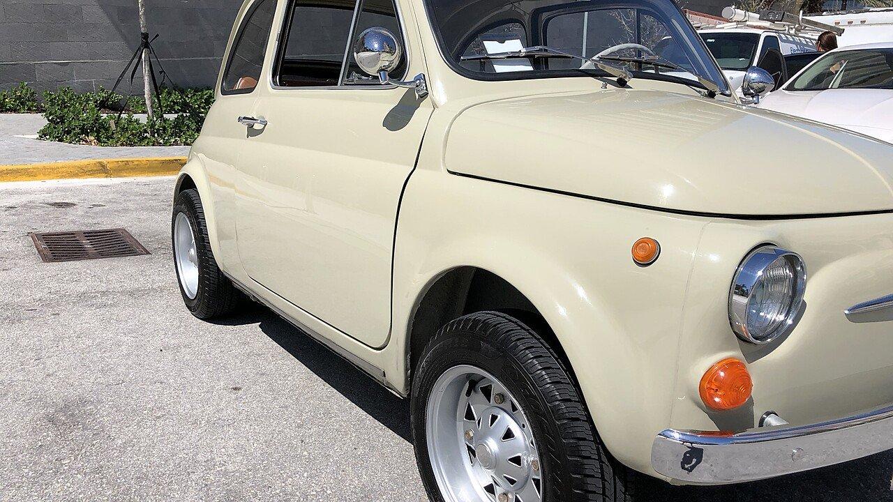 1967 FIAT 500 Easy Cabrio for sale near Miami Beach, Florida 33139 ...