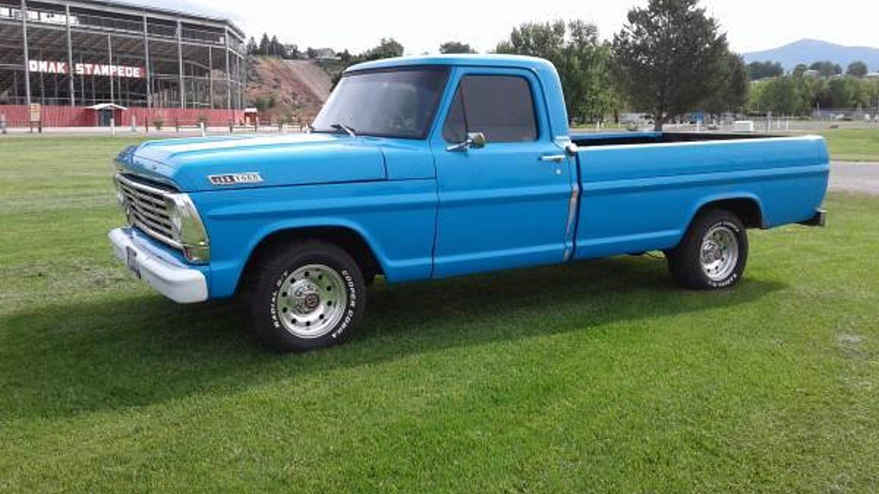 1967 Ford F100 for sale 100903905