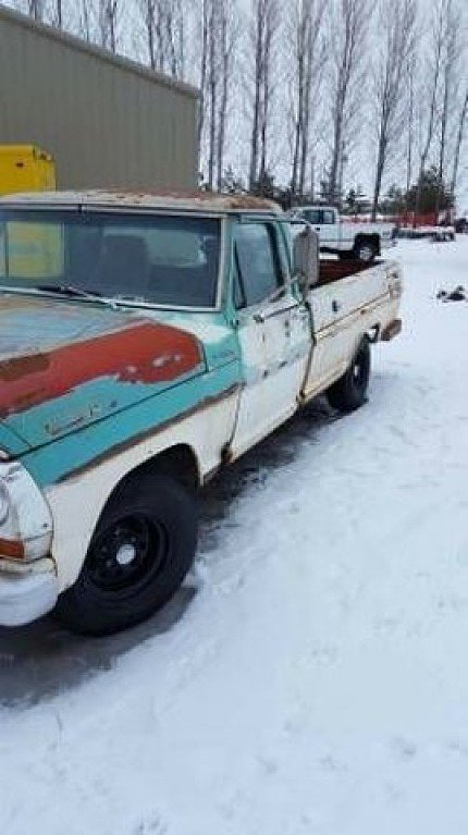 1967 Ford F100 for sale 100828729