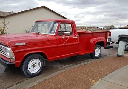 1967 Ford F100 for sale 100834834