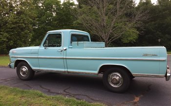 1967 Ford F100 2WD Regular Cab for sale 100878176