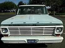 1967 Ford F100 2WD Regular Cab for sale 100931917