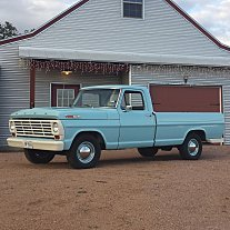 1967 Ford F100 2WD Regular Cab for sale 100942422