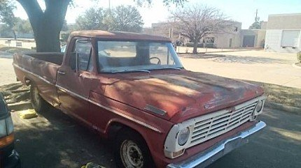 1967 Ford F100 for sale 100957581
