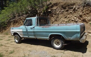 1967 Ford F100 2WD Regular Cab for sale 101001252
