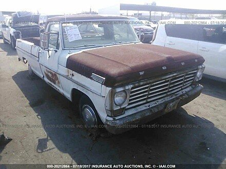 1967 Ford F100 for sale 101016122