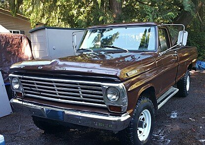 1967 Ford F250 4x4 Regular Cab for sale 100929086