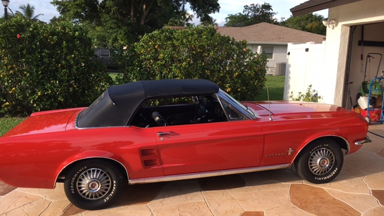1967 Ford Mustang Convertible for sale 100944791