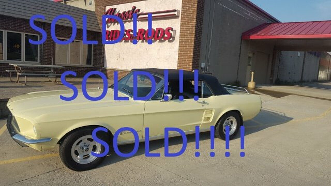 1967 Ford Mustang for sale near Annandale, Minnesota 55302 ...