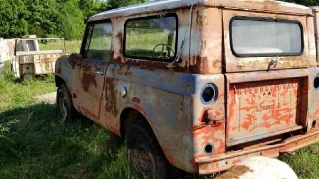 1967 International Harvester Scout for sale 101019522