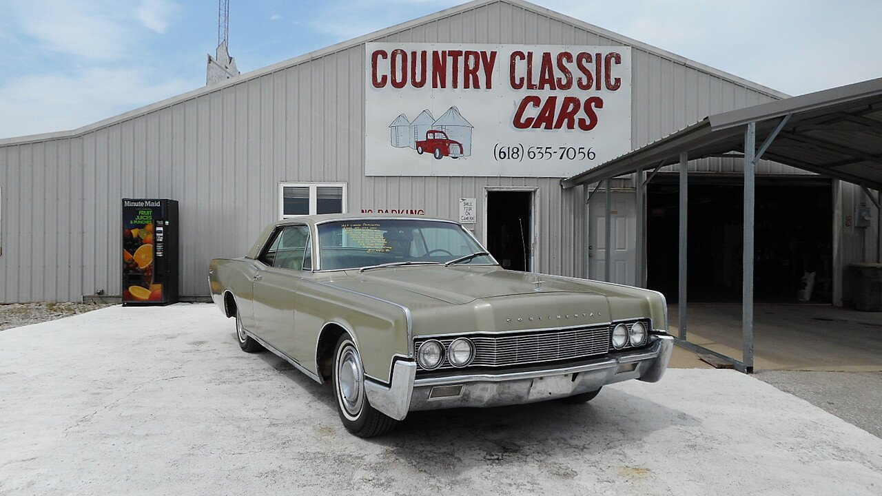 1967 Lincoln Continental for sale near Staunton, Illinois 62088 ...