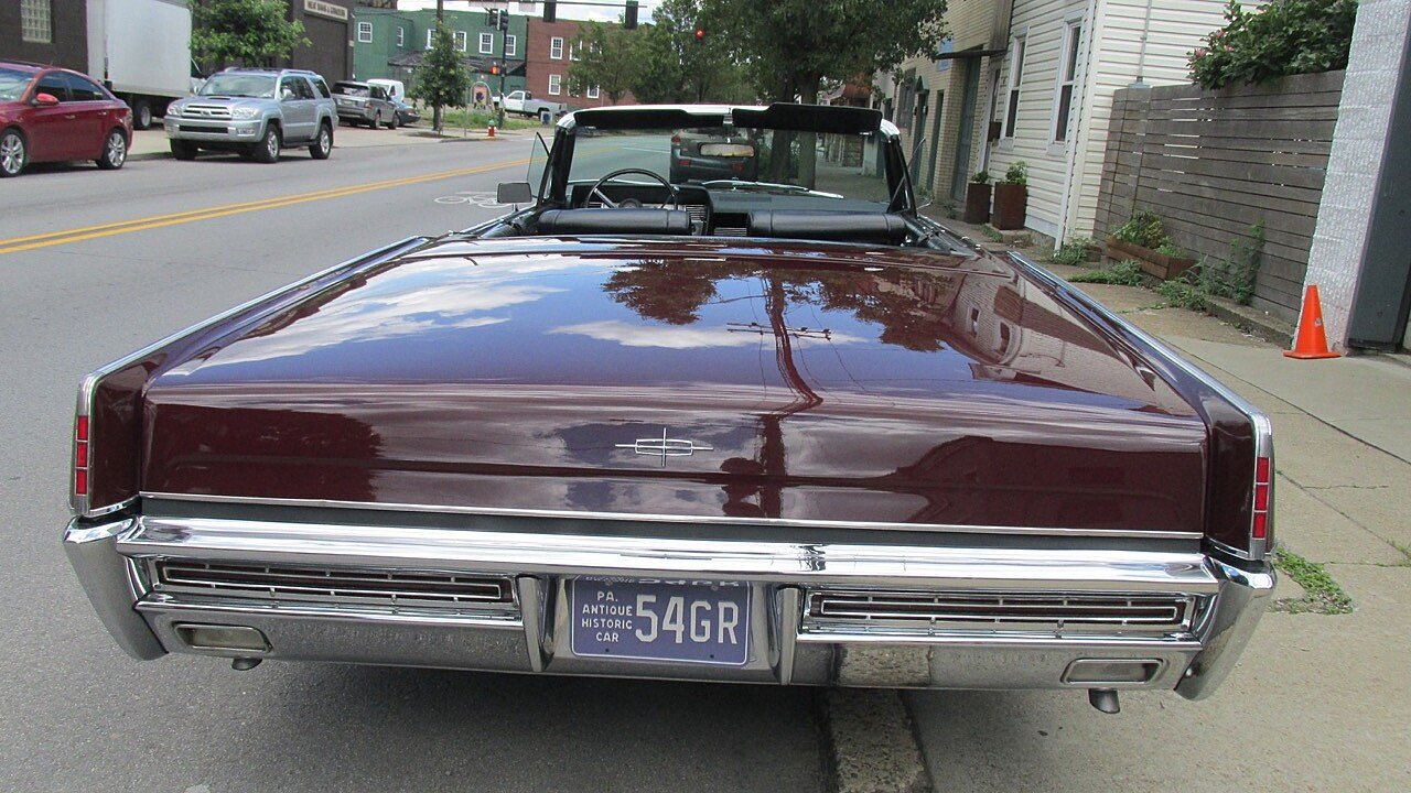 1967 Lincoln Continental for sale near Pittsburgh, Pennsylvania ...