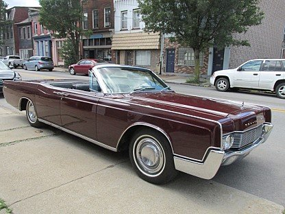 1967 Lincoln Continental for sale 100961278