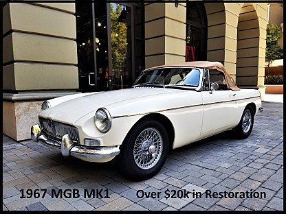 1967 MG MGB for sale 101005350