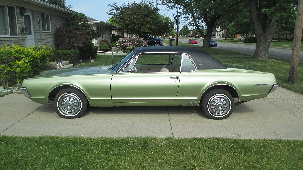 1967 mercury cougar xr7 coupe for sale near roseville michigan 48066 classics on autotrader. Black Bedroom Furniture Sets. Home Design Ideas